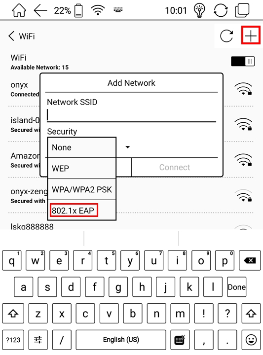 Wifi connection problem - Note Series - BOOX
